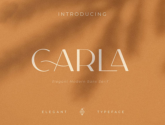 Carla Sans Elegant Typeface
