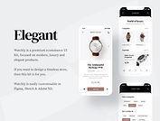 Watchly - Ecommerce UI Kit