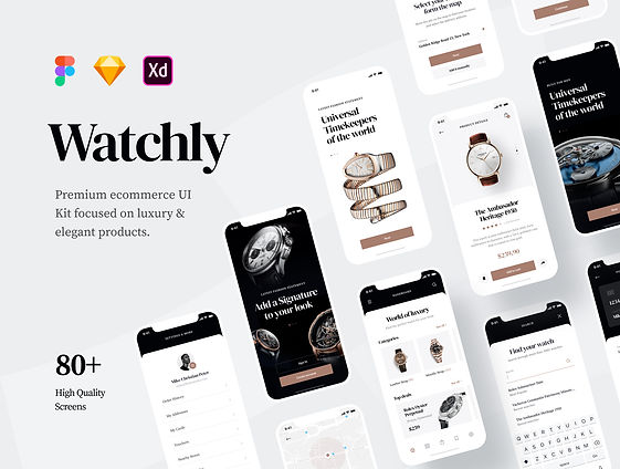 Watchly - Ecommerce UI Kit