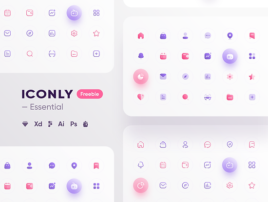 Iconly - Essential icons