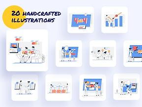 Marketing & Sales Illustration