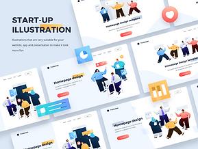 Startup Illustration kit