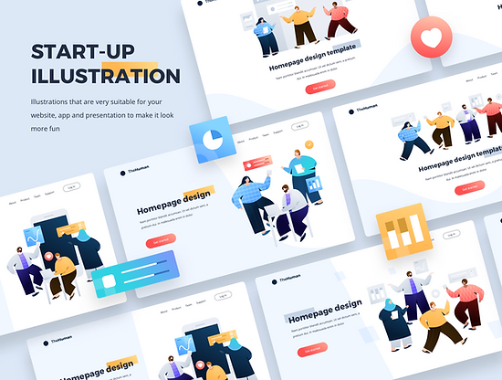 Startup Illustration kit