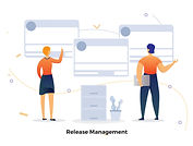 CRM & Salespersons Illustration