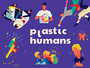 Plastic Humans Illustration