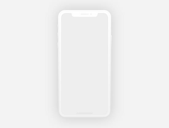 iPhone X Mockups XD