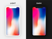 iPhone X Mockups XD