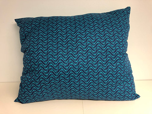"Blue - Green Reversible Pillow, 18"" x 14"""