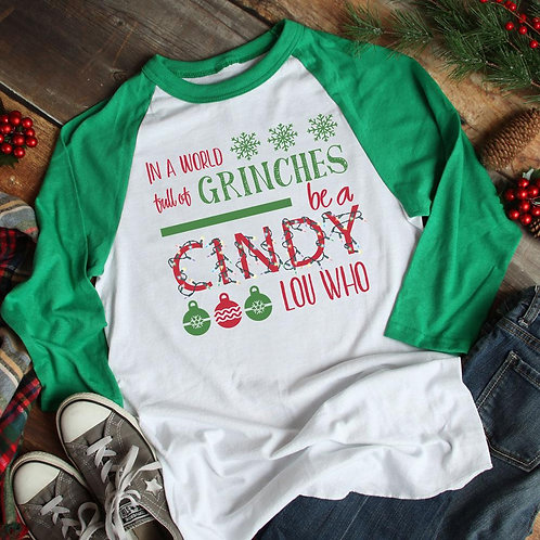 Be a Cindy Lou Who Shirt