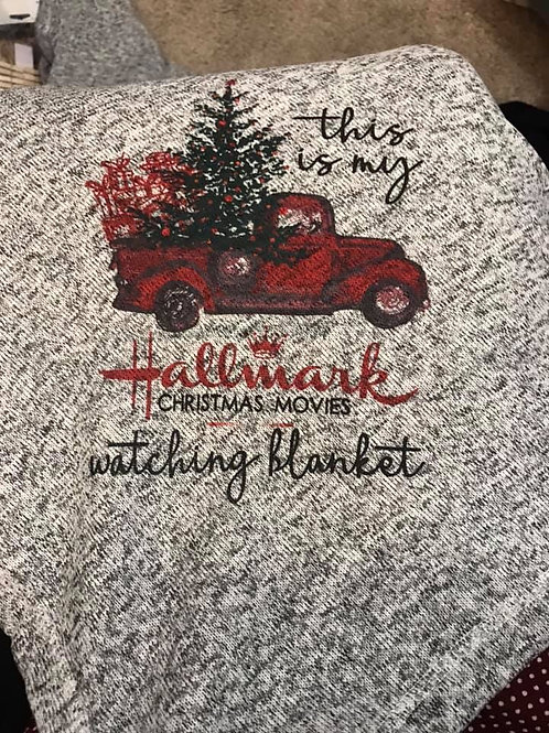 Christmas Movies Blanket