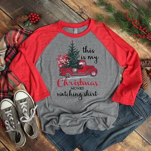 Christmas Movie Watching Shirt