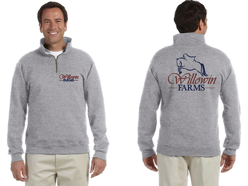 Adult Willowin Farms Pullover Quarter Zip
