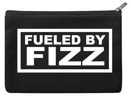 Fueled By Fizz Cosmetic Bag