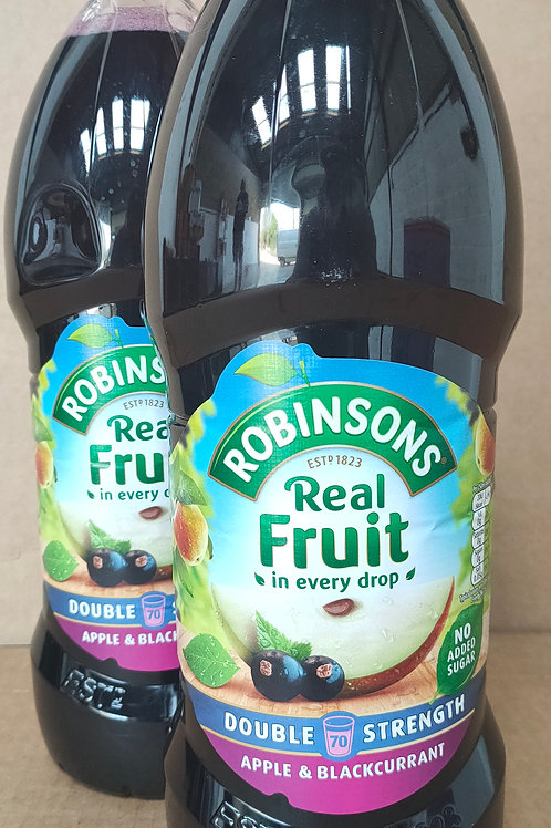 Robinsons Apple and Blackcurrant