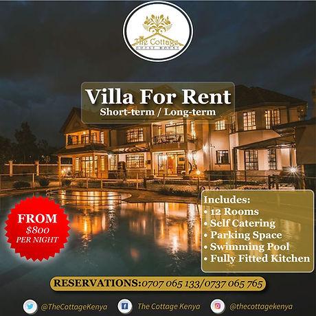 Villa for Rent - Cottage