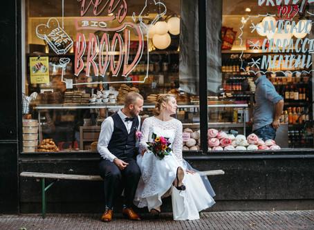 Kleine intieme bruiloft