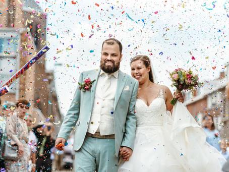 Welke confetti is geschikt op je bruiloft?