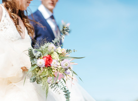 Het bruidsboeket in beeld
