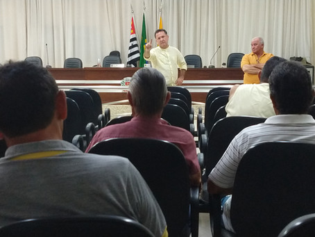 Sindicato reúne Servidores de Nova Canaã para discutir Convenção Coletiva