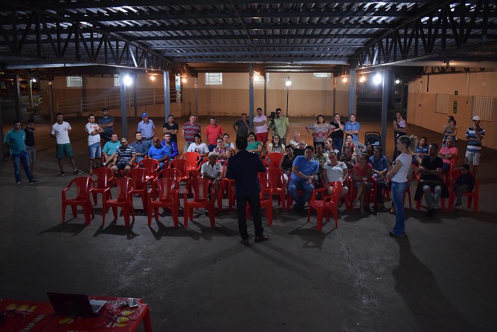 Reunião do Sindicato dos Servidores Públicos Municipais de Jales e Região em Dirce Reis