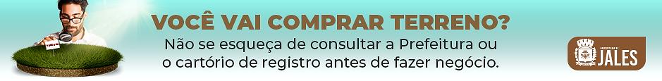 Banner prefeitura Compra de Lotes - 940x
