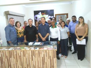 Diretoria de Santa Fé se reúne com prefeito na sub-sede local