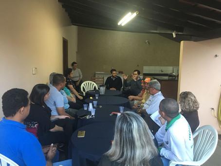 Sindicato reúne diretoria de Santa Fé do Sul para discutir evolução funcional