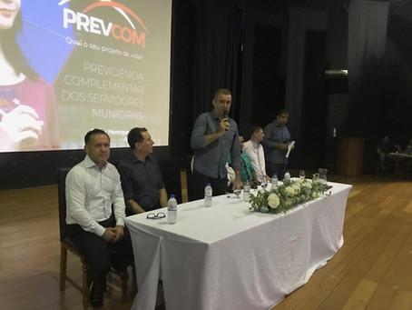 Sindicato participa de reunião sobre previdência complementar em Santa Fé do Sul