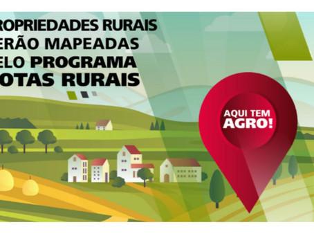 Propriedades rurais de Jales serão mapeadas e endereçadas