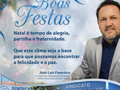 Mensagem do Presidente do Sindicato dos Servidores Públicos Municipais de Jales e Região