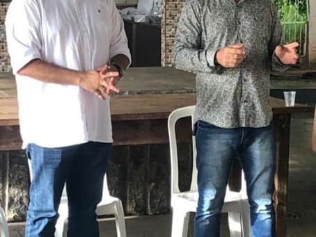 Sindicato recebe Prefeito de Jales para discutir reforma administrativa, reposição e sede própria