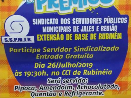 "Sindicato promove ""Arraiá de Prêmios"" em Rubinéia"