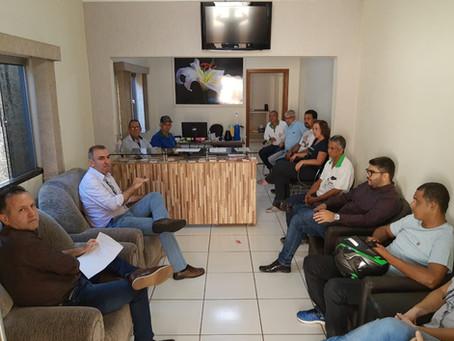 Sindicato se reúne com prefeito de Santa Fé a respeito da reforma da previdência do município