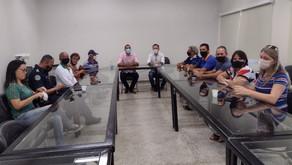 Sindicato se reúne com prefeito de Santa Fé pela terceira vez e apresenta pauta de reivindicações