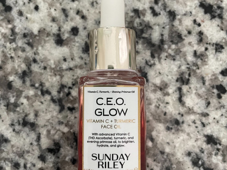 Sunday Riley C.E.O. Glow Vitamin C and Turmeric Face Oil Review