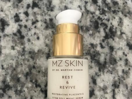 MZ Skin Rest & Revive Restorative Placenta & Stem Cell Night Serum