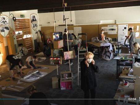 Die Wartehalle: Schandfleck oder öffentlicher Kreativraum?