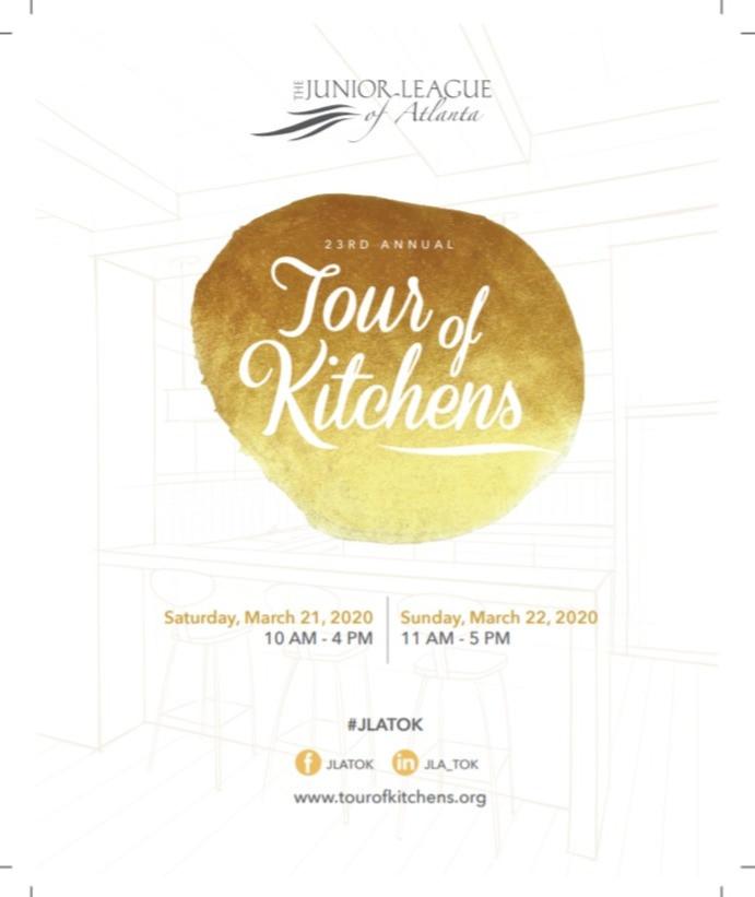 Junior League of Atlanta Tour of Kitchens 2020