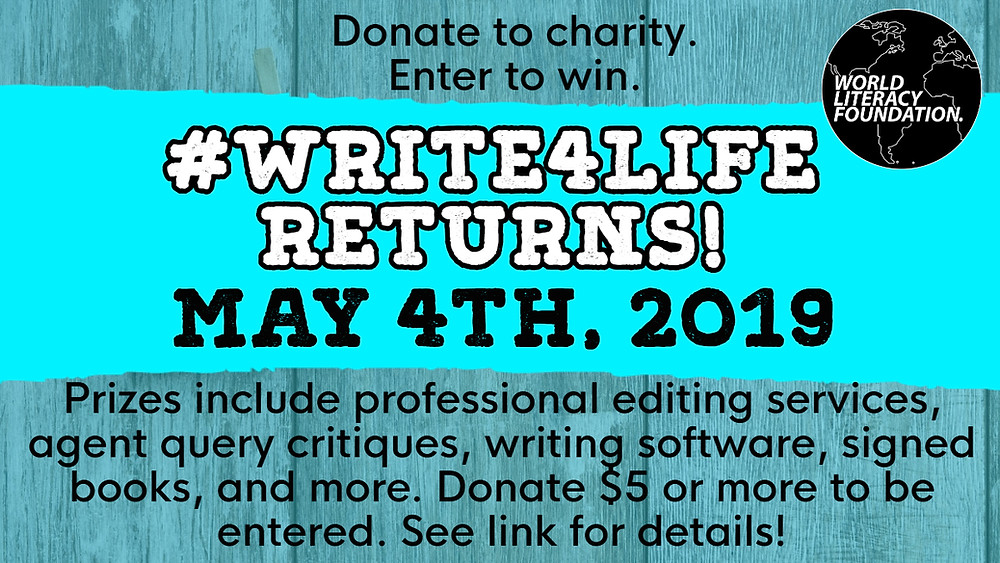 #Write4life Returns!