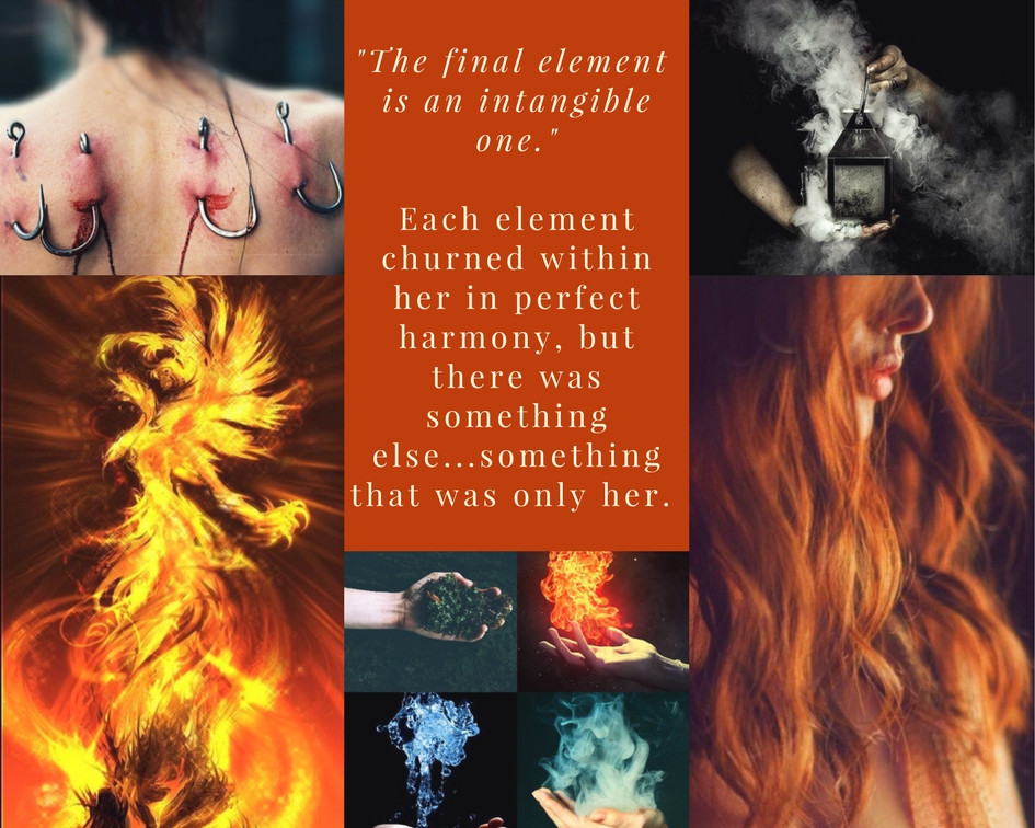 Elementals Aesthetic Ember by C.M. Fick