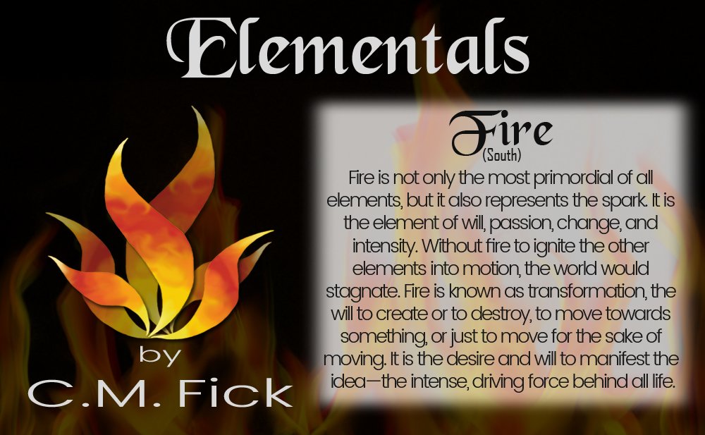 Elements pin sheet fire