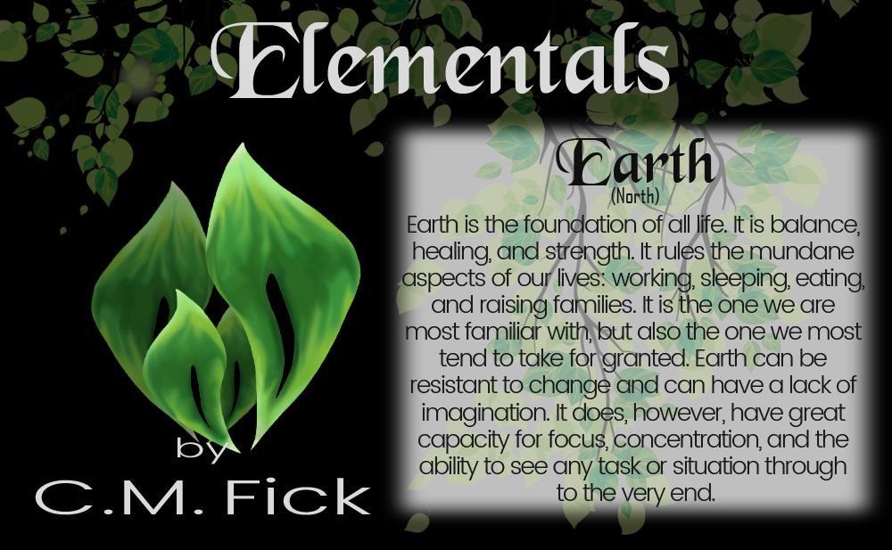 Elements pin sheet earth