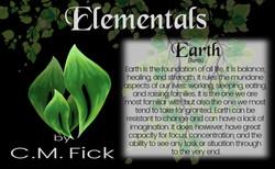 Elements pin sheet earth