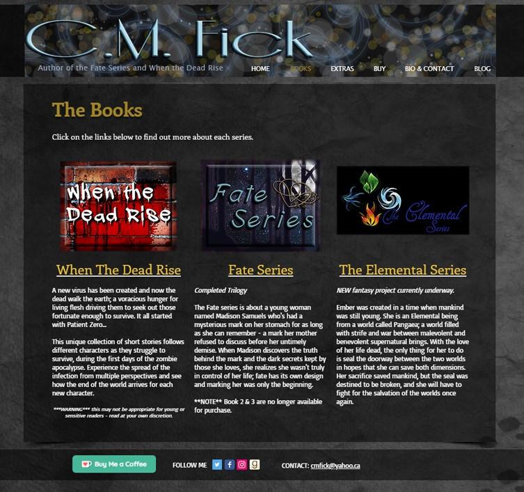 """Books"" CMFick old design"