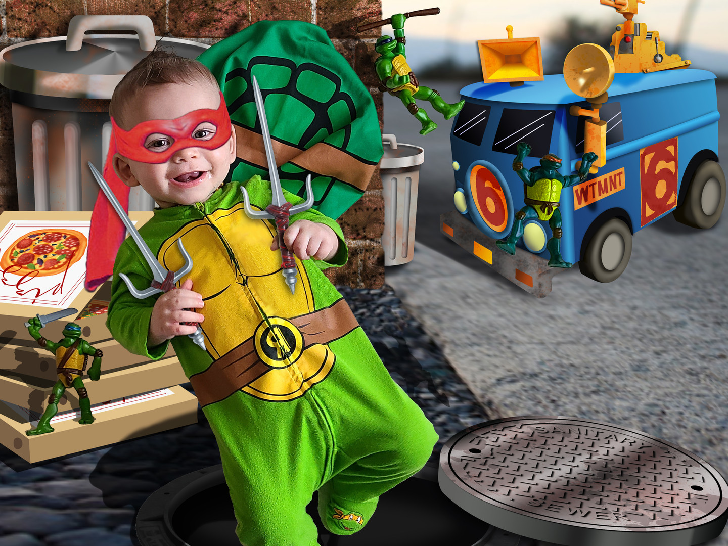 ninja turtle in the city with mask.jpg