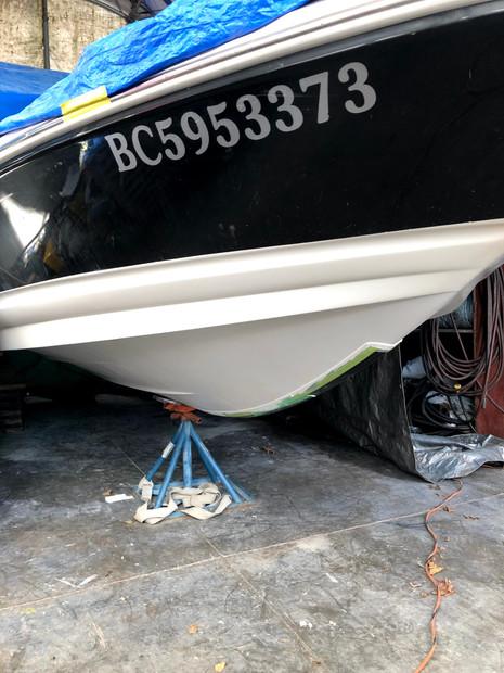 Completed osmosis damage repair