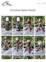 """""""Gemstone Stands"""" ReflectiveSummit 2020 design"""