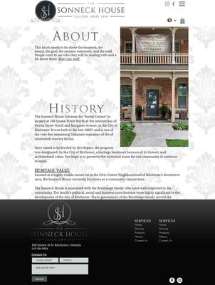 Salon & Spa business design