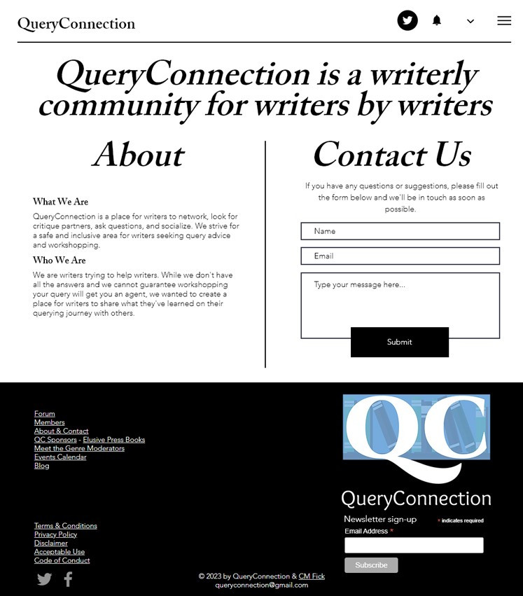 2020 QueryConnection design About and Co