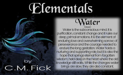 Elements pin sheet water